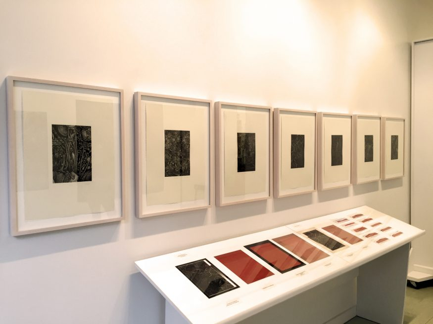 Photogravures Installation